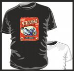 KOOLART PETROLHEAD SPEED SHOP Design For Honda fireblade Super Bike mens or ladyfit t-shirt